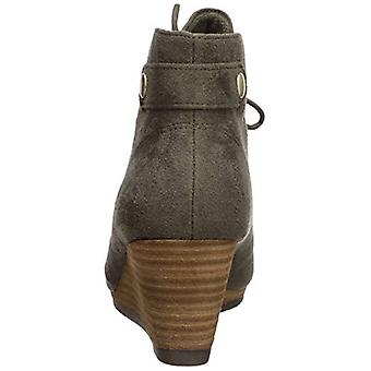 Dr. Scholl's Shoes Womens Conquer Suede Almond Toe Ankle Fashion Boots