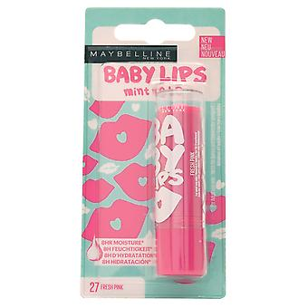 Maybelline Baby Lips Mint to Be 8Hr Moisture Lip Balm+Colour Fresh Pink #27
