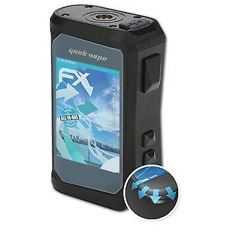 atFoliX 2x beschermende film compatibel met Geekvape Aegis X Zeus Screen Protector helder en flexibel