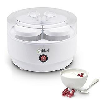 Yoghurt Maker Kiwi KYM-7207 180 ml 10W Bianco
