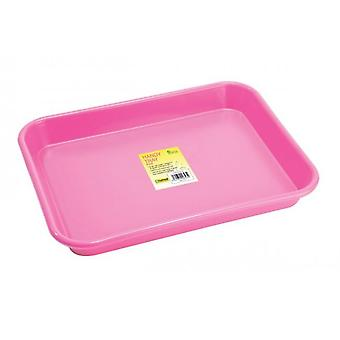 Handy Tray Pink strong for Garden and kitchen