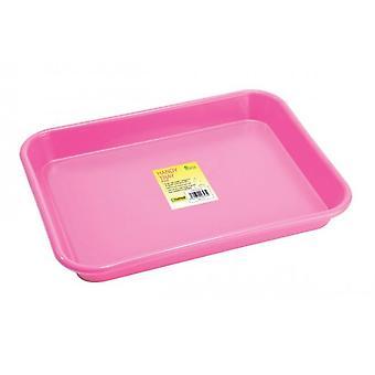 Handy Tray Pink forte per giardino e cucina