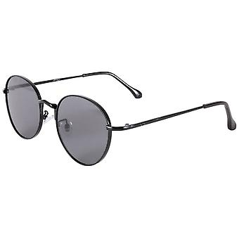 Jeepers Peepers Classic Runde Sonnenbrille - Schwarz