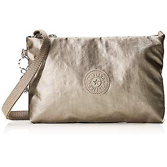 Kipling Atlez Duo - Brown Women's Shoulder Bags (Metallic Rose Gift) 25x16.5x3 cm (B x H T)