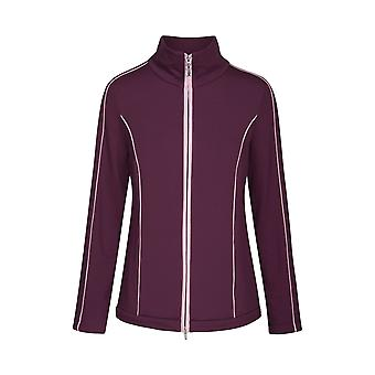 Féraud 3191039-11951 Women's Casual Chic Cassis Purple Loungewear Jacket