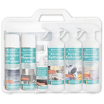 "HOTREGA® Kitchen Set Case ""Fridge"", in Plastic Hard Shell Case"