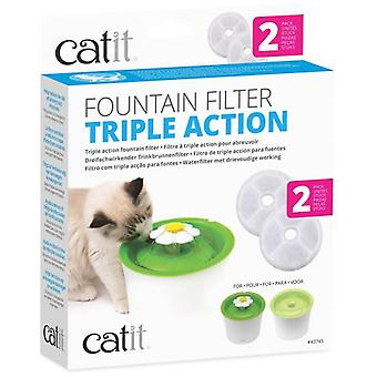 Catit Triple cartridge Accóin Drinker Flower 2 pieces