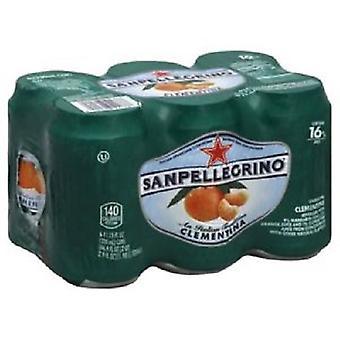 San Pellegrino Clementina Cans-( 330 Ml X 6 Cans )