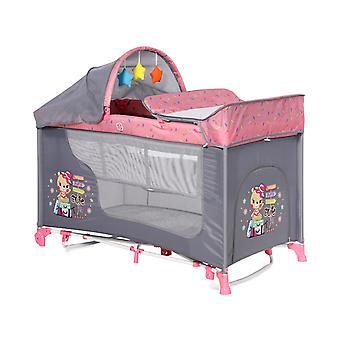 Lorelli Travel Bed Moonlight to nivåer swing funksjon mattress wrap rest