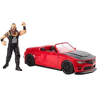 WWE GDC21 Wrekkin slam mobil med 10 stycken 6