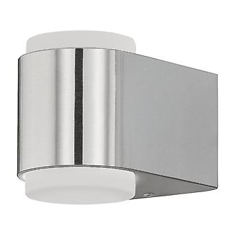 Eglo Briones - LED Outdoor Up Down Wall Light Stainless Steel IP65 - EG95079