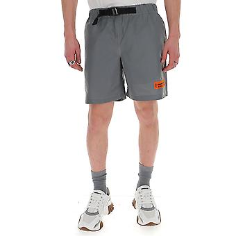 Heron Preston Hmcb007s208860060501 Men's Grey Cotton Shorts