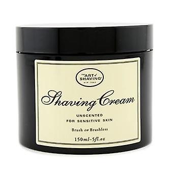 Shaving Cream - Unscented (for Sensitive Skin) - 150ml/5oz