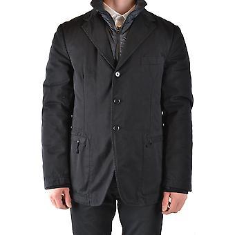 Yohji Yamamoto Ezbc106036 Men's Black Cotton Outerwear Jacket