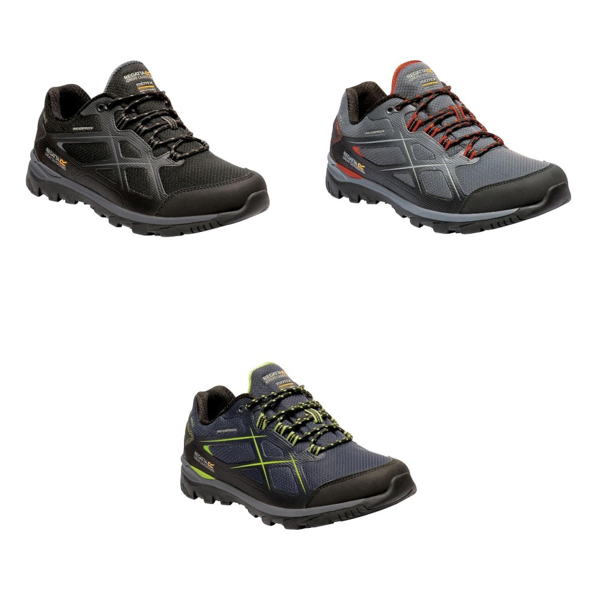Men/'s Kota Low Walking Shoes Black Granite