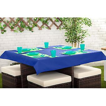 Gardenista outdoor dining vedenkestävä pöytäliina - suorakulmainen 52 & x70 & (132cm x178cm) sininen