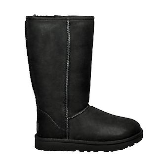 Ugg Classictallii Women's Black Suede Boots