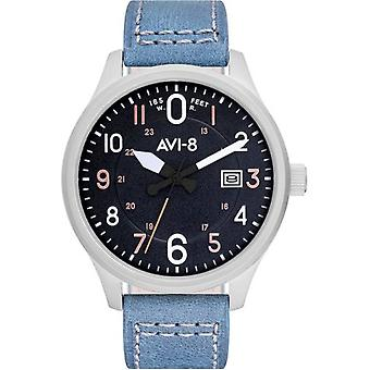 AVI-8 - Wristwatch - Men - Hawker Hurricane AV-4053 - AV-4053-0F - Bleu
