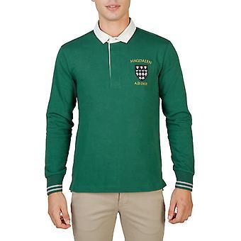 Oxford University Original Men Fall/Winter Polo - Green Color 55724