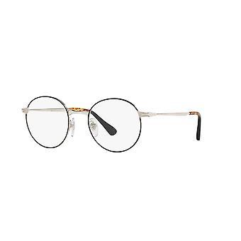 Persol PO2451V 1074 Silver Black Glasses