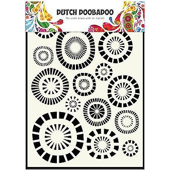 Nederlandsk Doobadoo A5 maske kunst sjablong - kretser 470.715.107