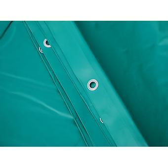 Presenning 10x12m, PVC 570g/m², Grøn