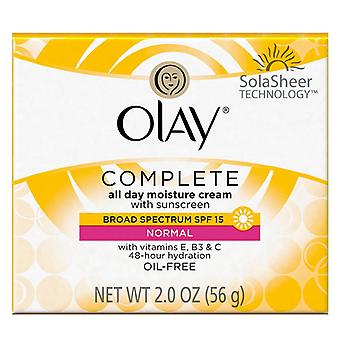 Olay complete all day moisture cream, normal, 2 oz