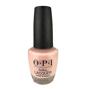 Opi nail lacquer - bubble bath 0.5 oz