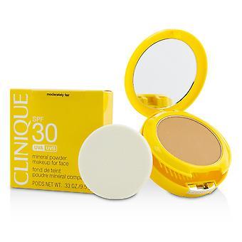 Sön spf 30 mineralpulver makeup för ansikte måttligt rättvis 9.5g/0.33oz