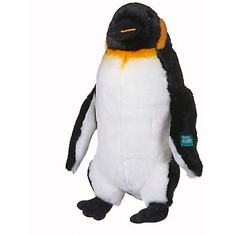 Bbc Blue Planet Ii Emperor Penguin Soft Toy With Display Stand 25 Cm