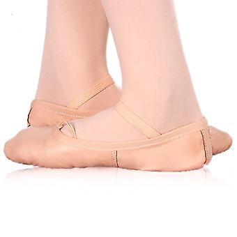 Children's Soft Ballet Shoes Happy Dance Pink/29