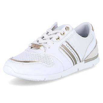 Tommy Hilfiger FW0FW04701 0K7 FW0FW047010K7WHITELIGHTGOLD universal all year women shoes