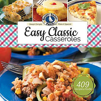 Easy Classic Casseroles by Gooseberry Patch - 9781620932353 Book