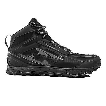 Altra Lone Peak 4 Mid (Boot) Waterproof Mens Zero Drop Trail Running Shoes Black