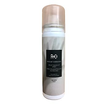 R+Co Bright Shadows Root Touch Up Spray Black 1. 5 OZ