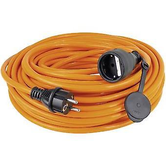 as - Schwabe 59105 Akım Kablo uzantısı Turuncu 5.00 m