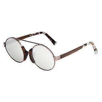 Earth Wood Anakena Polarized Sunglasses - Espresso/Silver