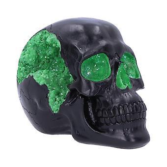 Nemesis Now Geode Skull Green 17cm