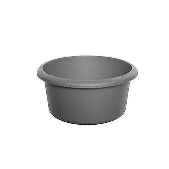 Whitefurze Round Plastic Washing Bowl