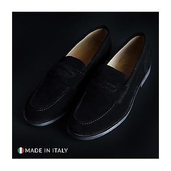 SB 3012 - Shoes - Moccasins - 1000_CAMOSCIO_NERO - Men - Schwartz - EU 41