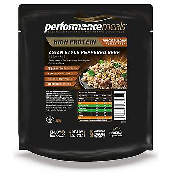 Performance Meals Asian Style Peppered Beef & Brown Rice 1 Pack