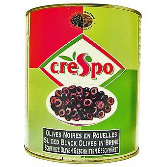 Crespo Sliced Black Olives