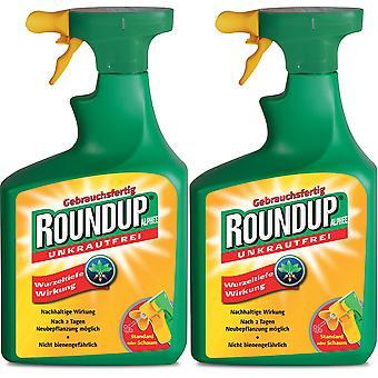 Sparset: 2 x ROUNDUP® Alphee, 1 litre