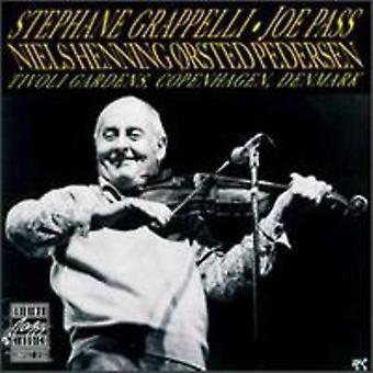Grappelli/Pass/Pedersen - Tivoli Gardens [CD] USA import