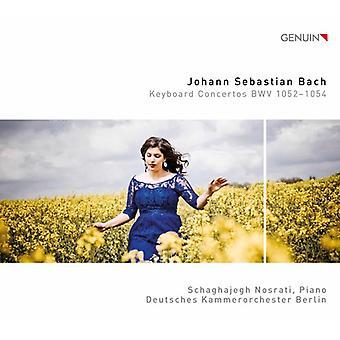 Bach*J.S. / Nosrati - Keyboard Concertos Bwv 1052-1054 [CD] USA import