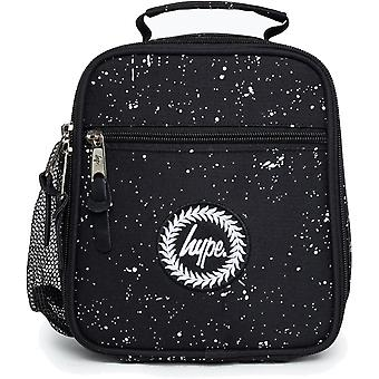 Hype Speckle Lunch Box Bag Black 54