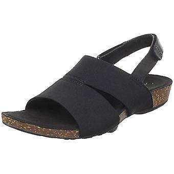 Aetrex kvinnors Hannah tyg öppen tå casual sport sandaler