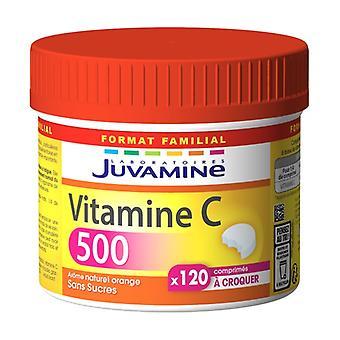 Vitamin C 500 - Maxi Format 120 chewable tablets