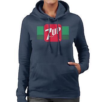 7up Retro 80s Logo Women's Hooded Sweatshirt