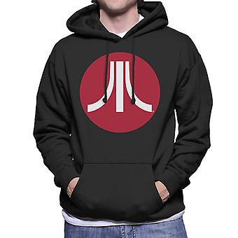 Atari Circle Logo Men's Kapüşonlu Sweatshirt